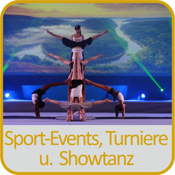 Sport- Events, Turniere und Showtanz